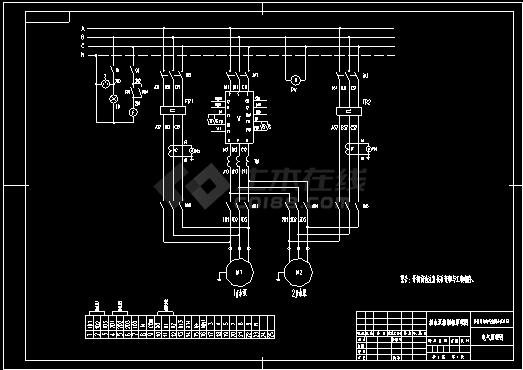 潜水泵控制原理图-图二