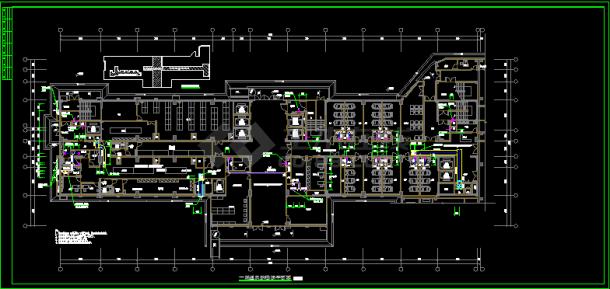 大型(10万平米)医院暖通设计图纸-图二