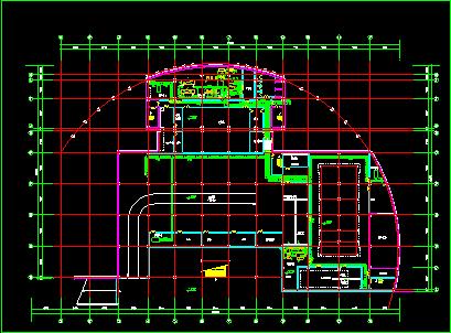 某住宅地下室中央空调全套cad设计施工图-图二