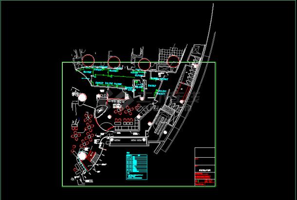 某市住宅楼厨房设备暖通设计cad施工图-图二