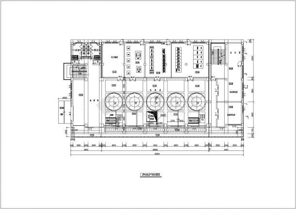 典型泵站平面及纵剖面图(共4张)-图二