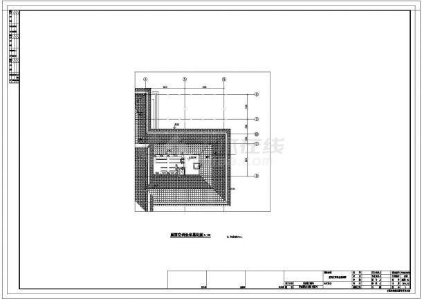 某地2层会所多联机空调系统和地板辐射采暖系统全套施工图-图二