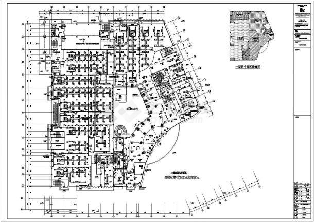 某二十二层四星级酒店溴化锂加螺杆式冷水机组暖通设计图-图二