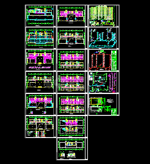 办公楼溴化锂空调详细设计施工方案图-图一