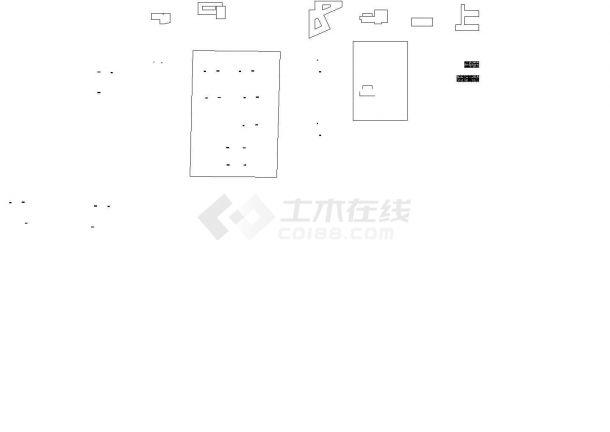 高校科技园园区规划各层平面-图一