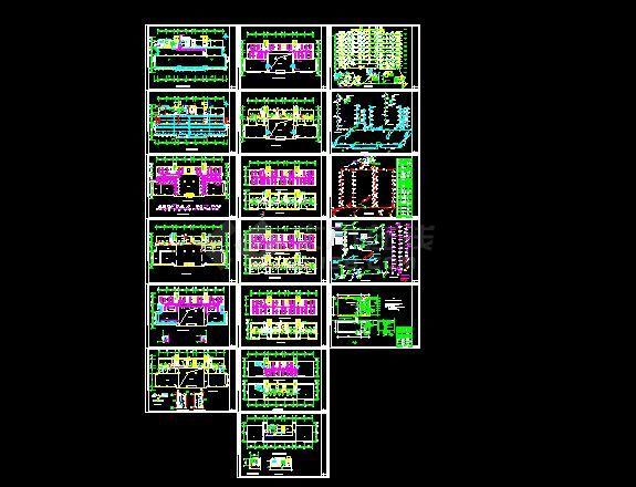 办公楼溴化锂空调详细施工设计方案图纸-图一