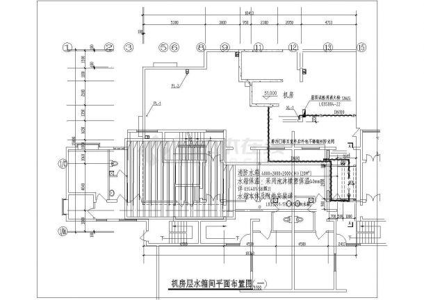 山东某高层住宅建筑给排水工程设计施工图-图一