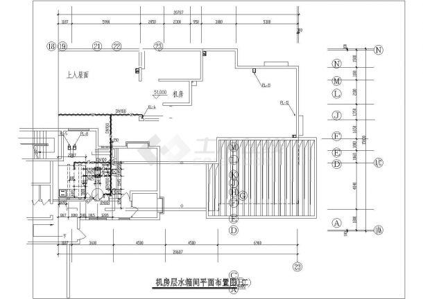 山东某高层住宅建筑给排水工程设计施工图-图二