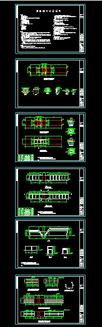 学校钢结构大门结构cad施工设计图-图一