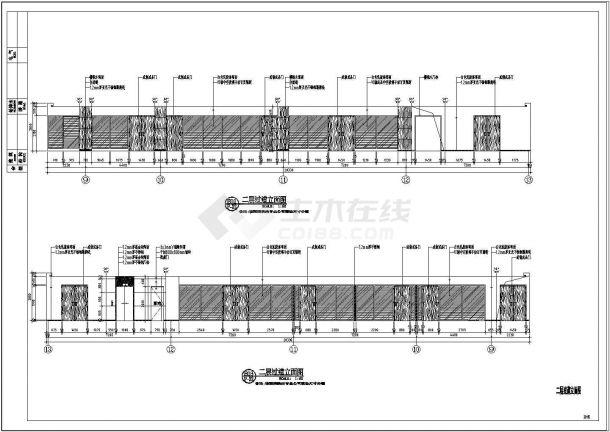 【六安】疾病与公共卫生监测检验楼装修工程图纸-图一