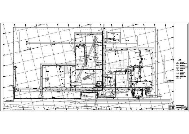 某地矿区给排水管网设计详细施工图-图一