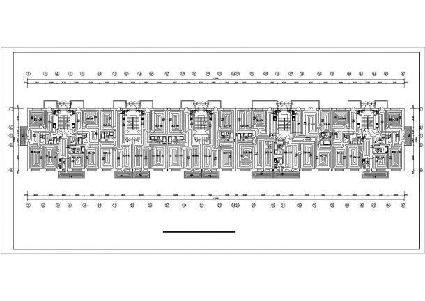【河北】商住楼地板辐射采暖系统设计图-图二