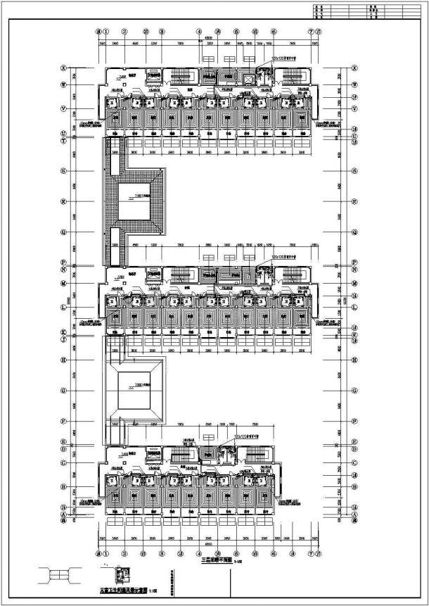 [山东]敬老院扩建项目地板辐射采暖系统施工图-图二