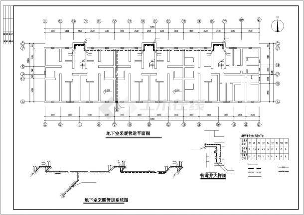 [新疆]住宅小区地板辐射采暖系统设计施工图-图一