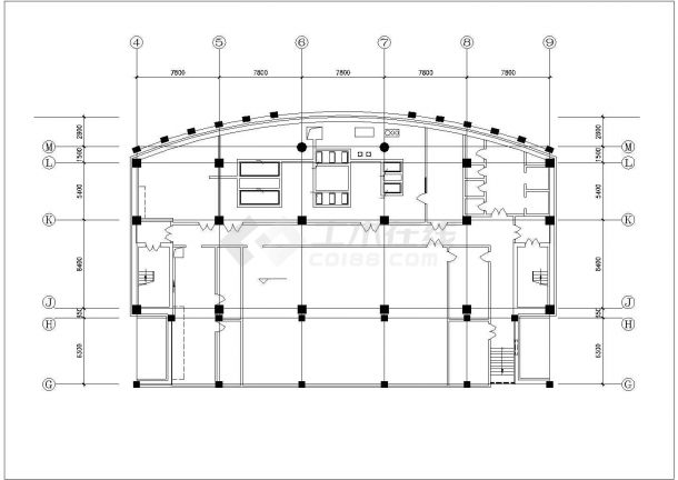 地下室中央空调系统设计施工图-图一