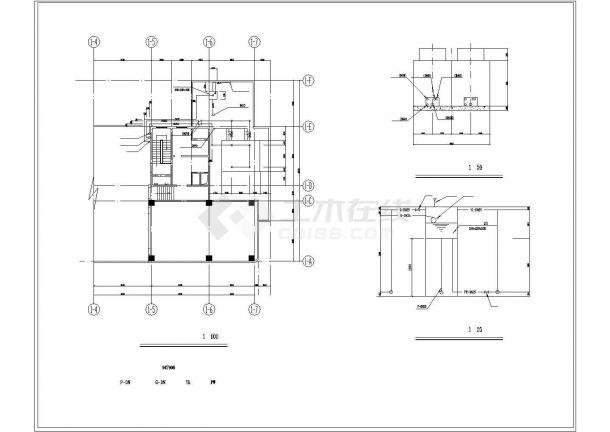 【广州】某科技大楼溴化锂空调设计图-图二