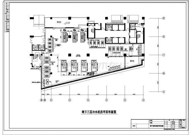 实用空调制冷机房及空调机房设计图纸-图二