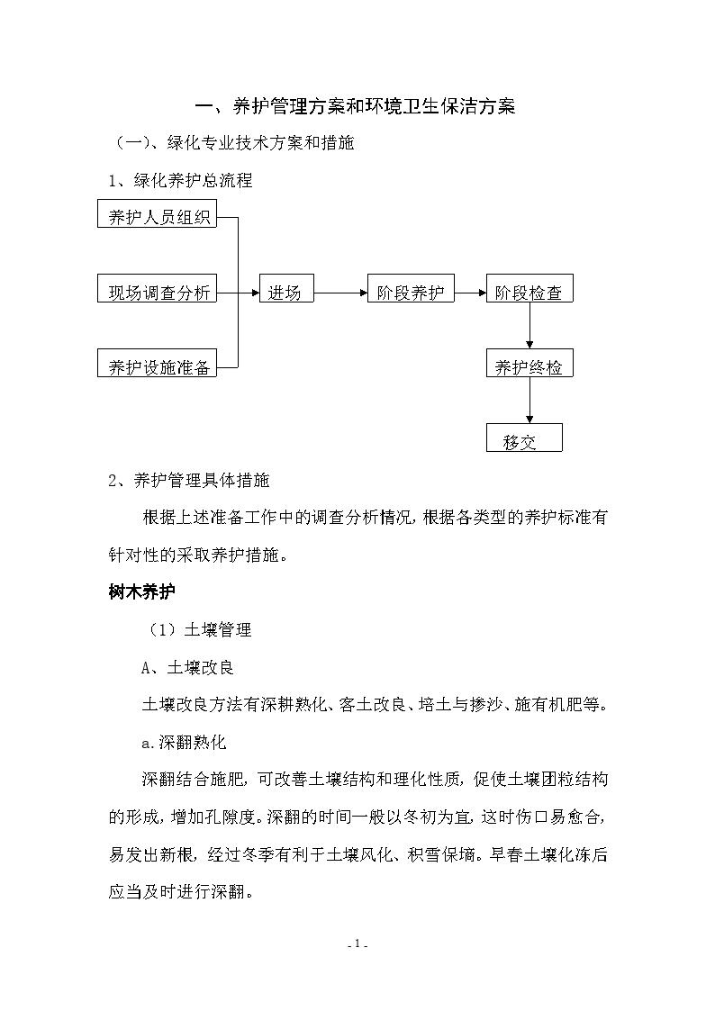 广东某医院绿化养护设计方案-图二