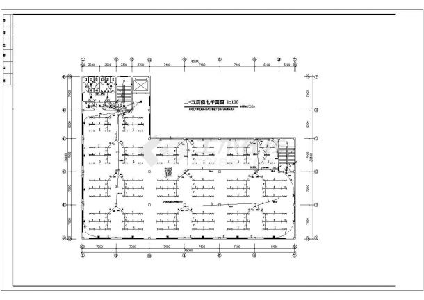 某地厂房电气设计图(含设计说明)-图二