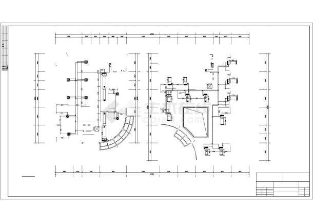 某制药公司综合办公楼多联机设计图-图一