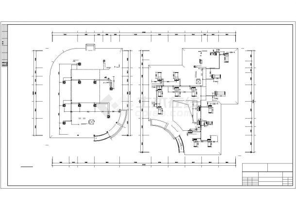 某制药公司综合办公楼多联机设计图-图二