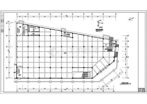 内设置喷淋、泵房、消火栓设计图纸-图一