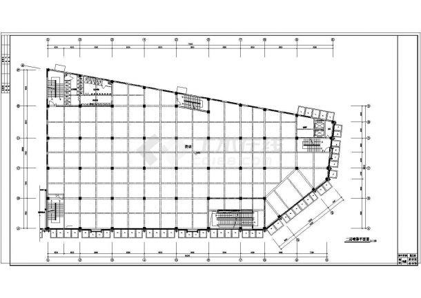 内设置喷淋、泵房、消火栓设计图纸-图二