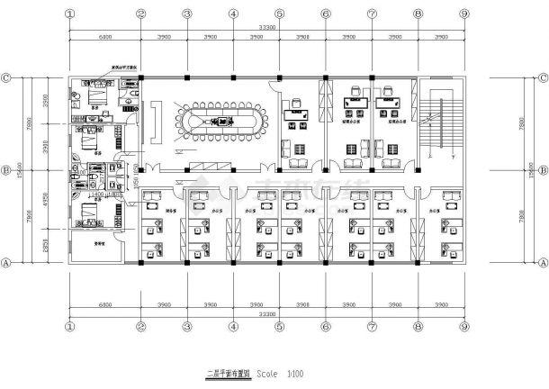 某综合楼建筑电气设计CAD施工图-图二