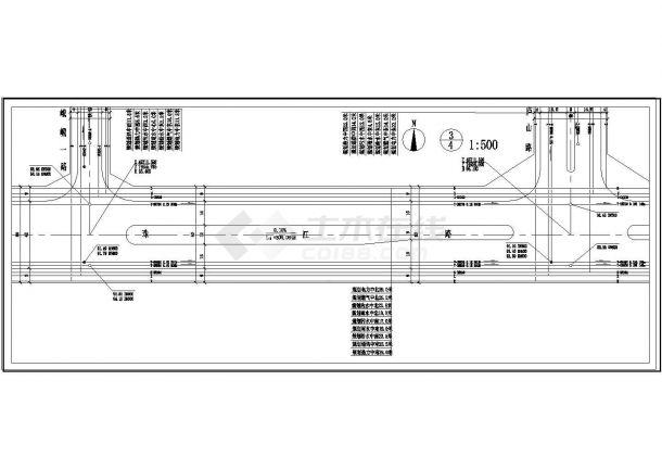 【珠江】路道路工程管线综合规划图设计-图二