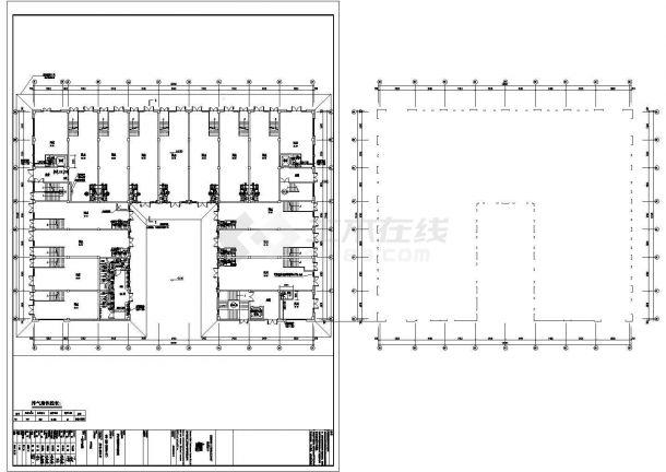 某地商业住宅楼暖通设计图纸-图一