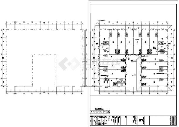 某地商业住宅楼暖通设计图纸-图二
