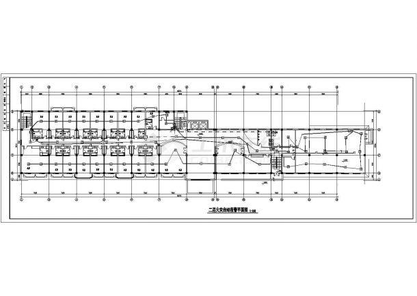 某疗养院电气消防图(含火灾自动报警及联动控制系统说明)-图二