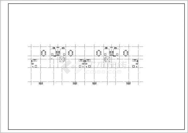 某地区商住小区给排水设计施工图纸-图二