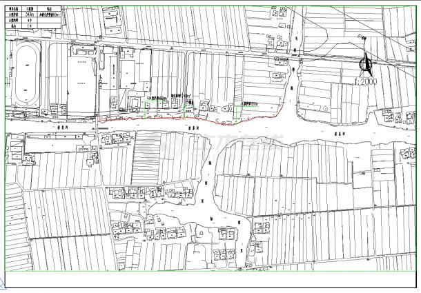 通界美丽乡村景观绿化设计图纸-图二