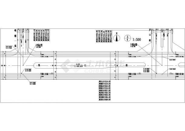 某珠江路道路工程管线综合规划图(共4张)-图一