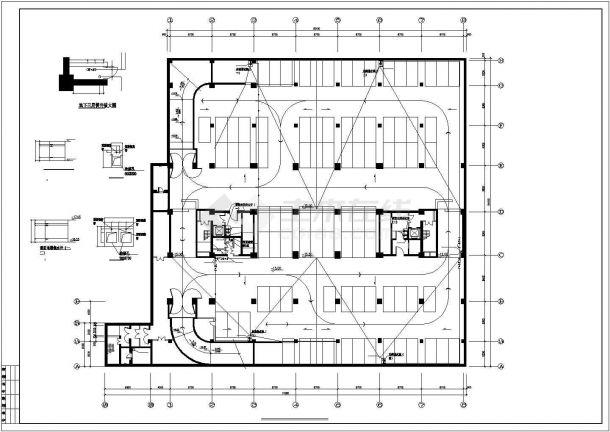 [北京]知名酒店会所给排水施工图(直饮水系统中水回用系统)-图一