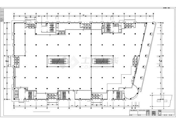 [哈尔滨]购物中心暖通空调施工图-图一
