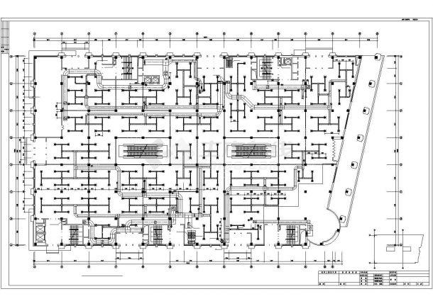 [哈尔滨]购物中心暖通空调施工图-图二