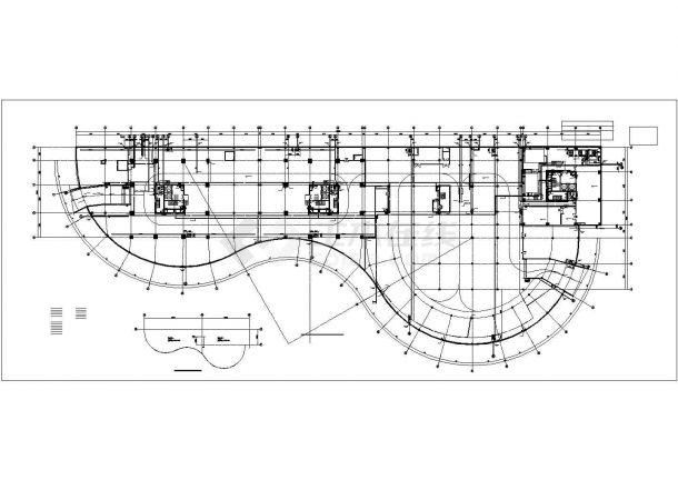 高层综合楼给排水施工图纸(商业、办公、公寓)-图二