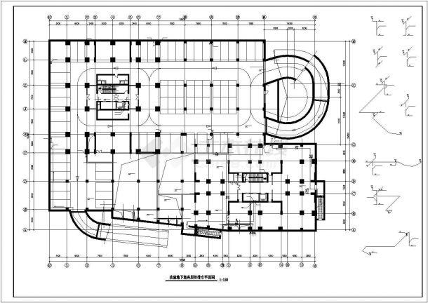 某高层建筑给排水图纸-图二