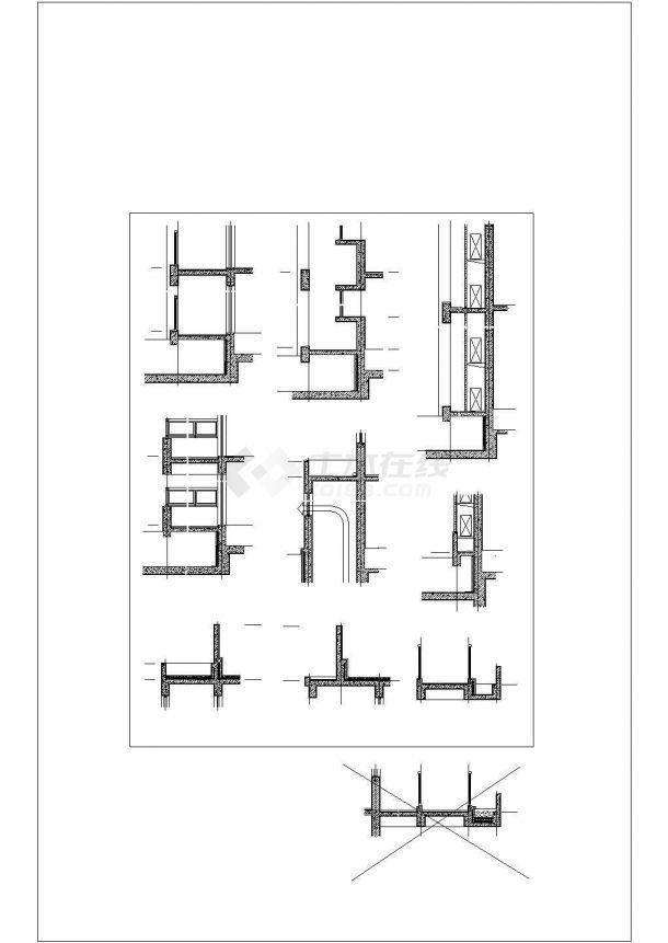 某十八层经济适用房9号楼建筑施工图-图二