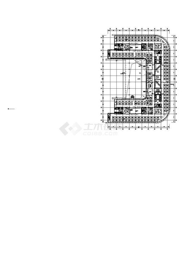 [北京]64000㎡七层知名集团总部大楼全套电气图纸(全套楼宇控制知名院)-图一