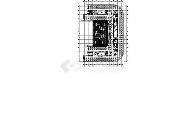 [北京]64000㎡七层知名集团总部大楼全套电气图纸(全套楼宇控制知名院)-图二