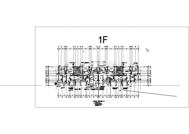 [山东]青岛某高层建筑给排水图集(含生活给水管道、排水管道、消防管道系统设计)-图一