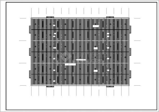 【武汉】门式刚架结构单层厂房结构设计施工图(6度抗震)-图二