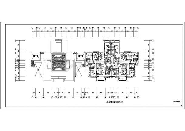 [安徽]中央广场三十七层高档住宅电气全套施工图-图二