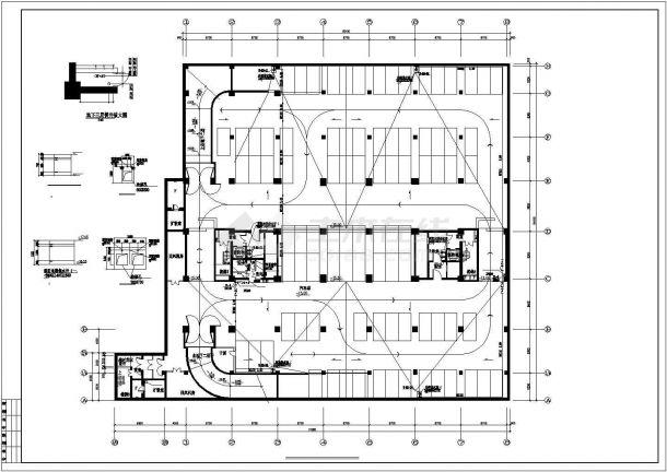 [北京]十八层知名酒店会所给排水施工图(直饮水系统中水回用系统)-图二