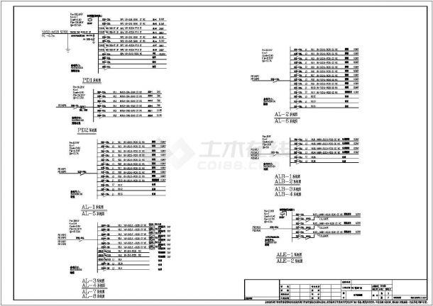 山东某3952.16㎡厂房电气设计图(二级负荷)-图一