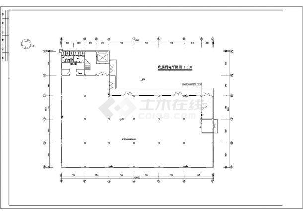 福建某5752平方米工业厂房电气设计(高20.4米)-图二