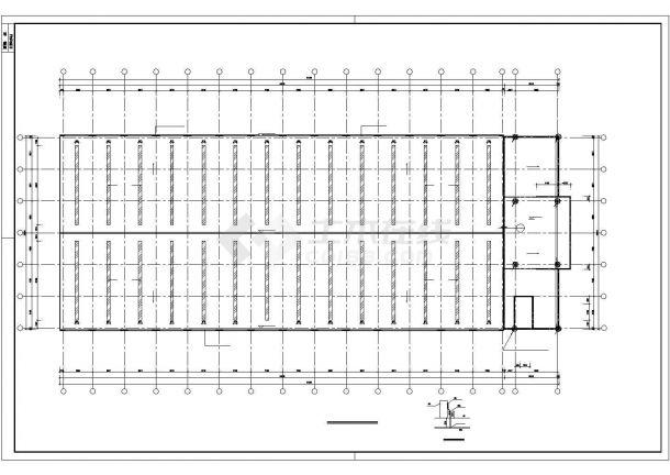 某模具钢车间厂房电气设计图纸-图一